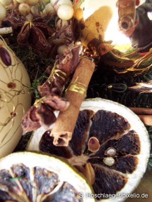 Glühwein, Zimt, Orangen- und Tannenduft – Weihnachten ist auch ein Fest der Gerüche