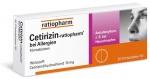 Cetirizin Ratiopharm 20 Stück