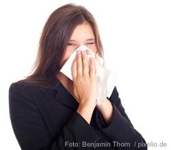 Dicke Nase, roter Hals - Die Erkältung