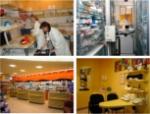 Die Räume der Pinguin-Apotheke Rutten