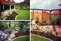 Bild Garten zum Entspannen und Tr�umen