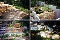 Bild Waldgartenanlage in mehreren Ebenen