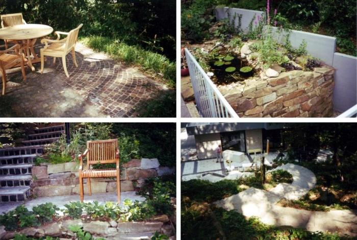 Gartengestaltung deimel garten und landschaftsbau for Garten 2 ebenen
